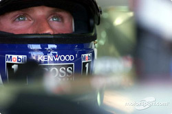David Coulthard in full focus