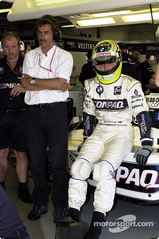 BMW Motorsport Director Dr. Mario Theissen and Ralf Schumacher