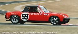 1971 Porsche 914/6 GT - Hurley Haywood/Brumos (virage 2)