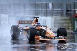 Gaston Mazzacane leaving pitlane