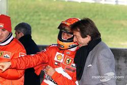 Michael Schumacher ve Luca di Montezemelo