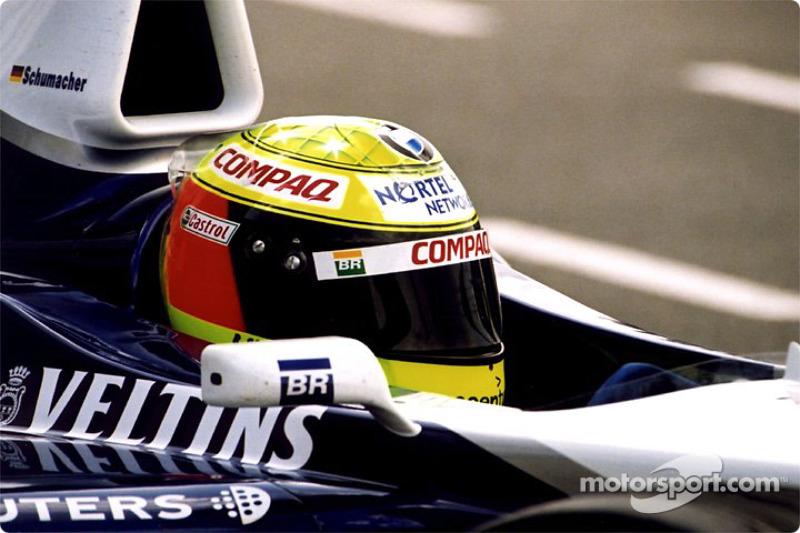 Ralf Schumacher en los pits