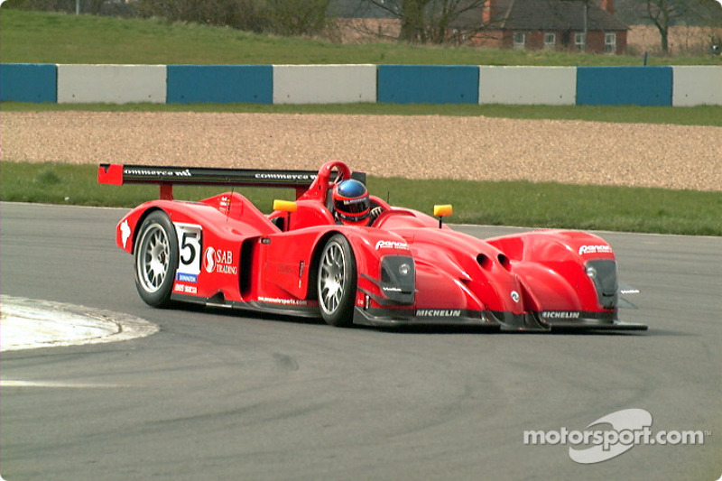 Panoz into Melbourne Bend
