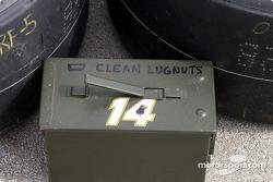 Lug nut box
