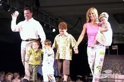 Billy Boat et sa famille