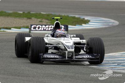 Sesión de prueba del BMW WilliamsF1 Team, Jerez, España