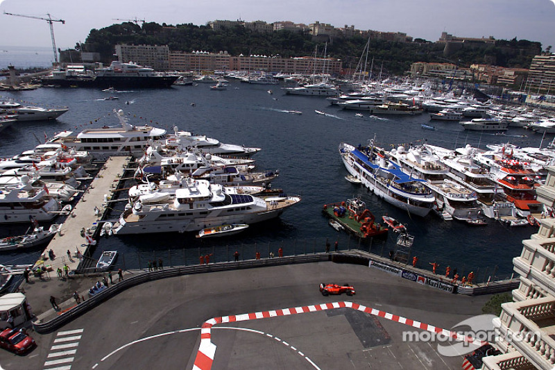 Michael Schumacher and the port