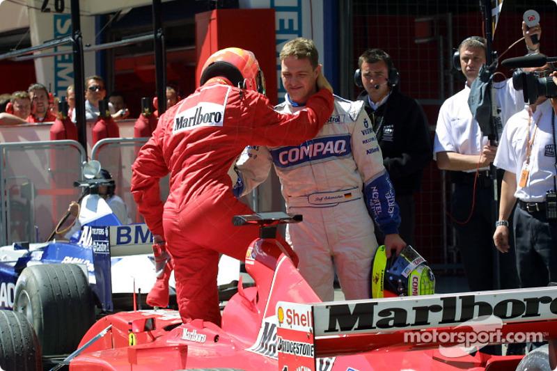 2001 Avusturya GP - Ferrari F2001