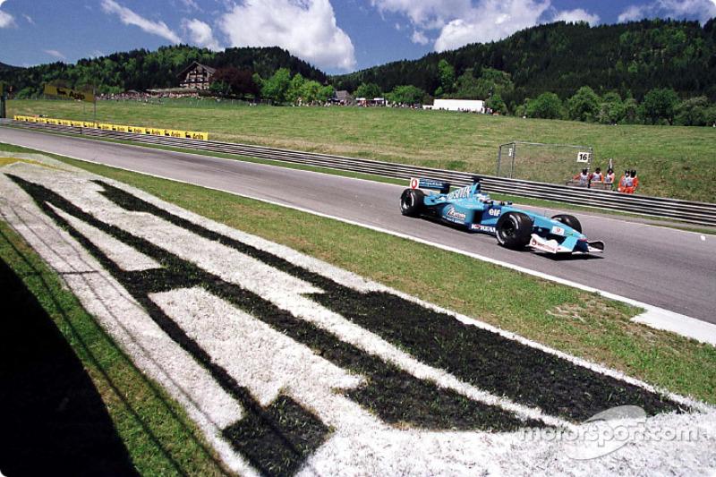 Giancarlo Fisichella au GP d'Autriche