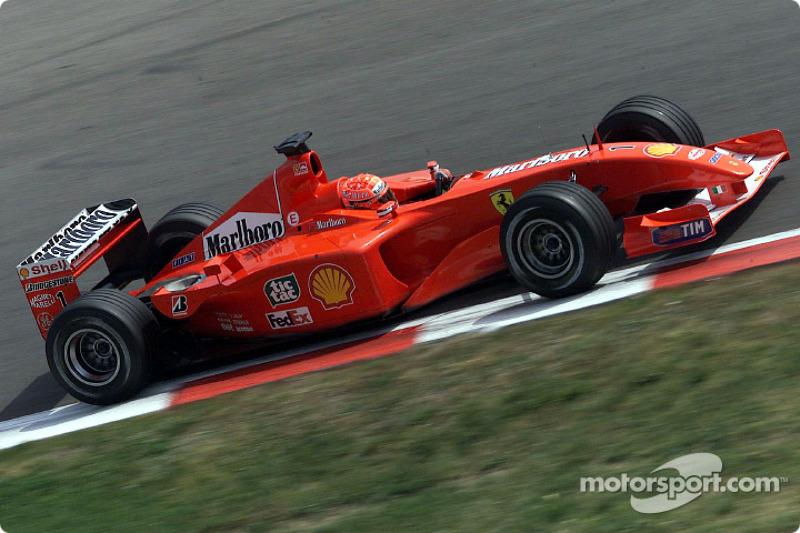 2001: Мichael Schumacher, Ferrari F2001