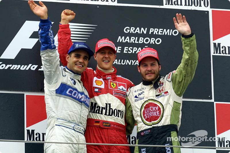 Jacques Villeneuve vs Juan Pablo Montoya - GP de Canadá 2001