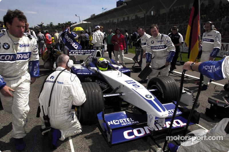 Ральф Шумахер (Williams BMW) на стартовій прямій