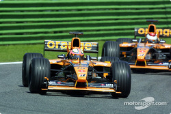 The Arrows: Luciano Burti and Jos Verstappen