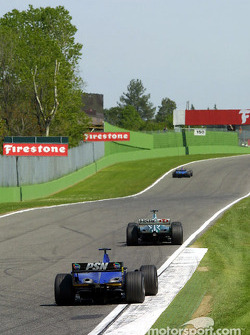 The two Prost and a Jaguar