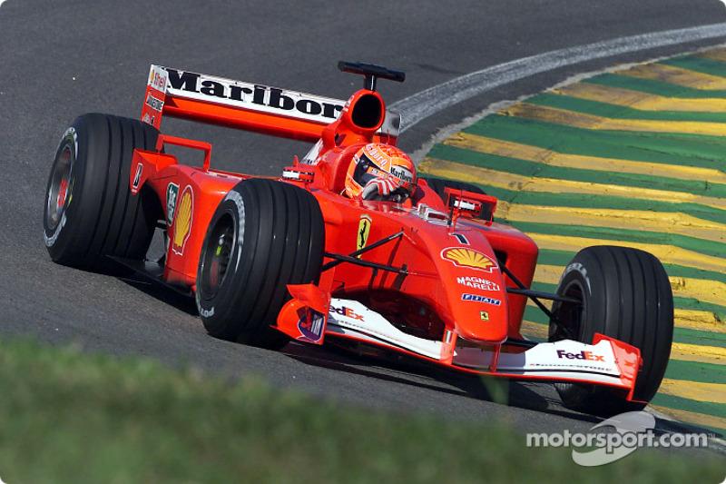 2001 Brazilian GP, Ferrari F2001