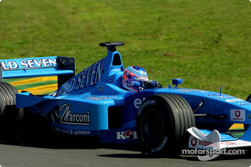 Jenson Button au GP du Brésil