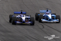 Gaston Mazzacane and Jenson Button