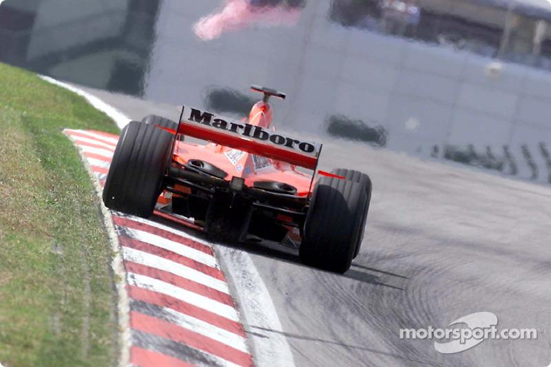 #34 GP de Malaisie 2001 (Ferrari F2001)