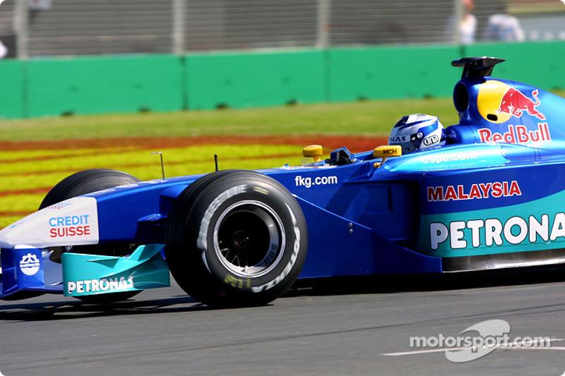 Kimi Raikkonen - GP de Australia 2001 (6º)