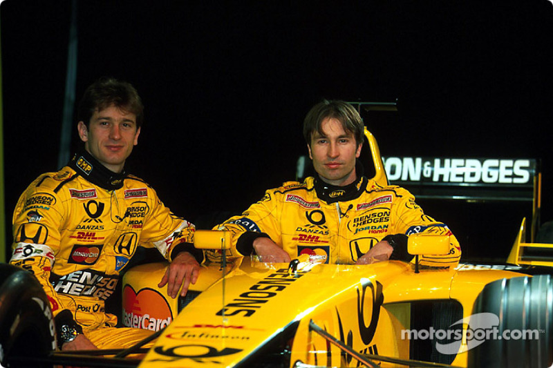 Jarno Trulli and Heinz-Harald Frentzen