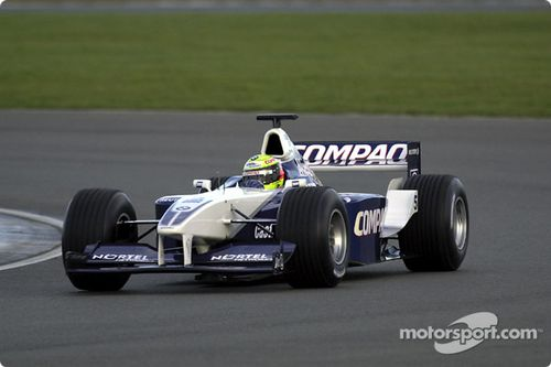 BMW Williams F1 FW23 lancering
