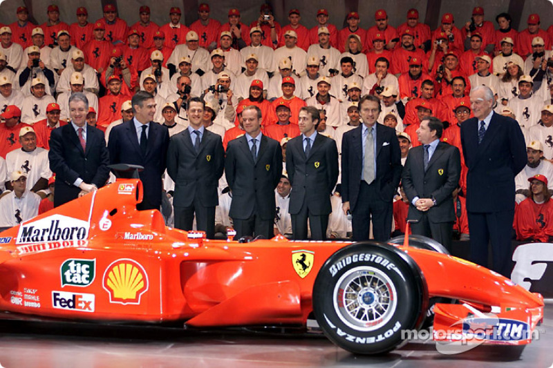 The team and the F2001