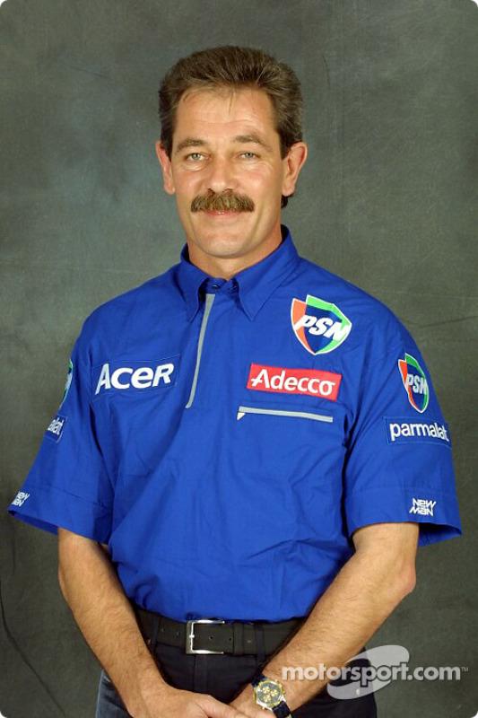 Technical co-ordinator Jean-Paul Gousset