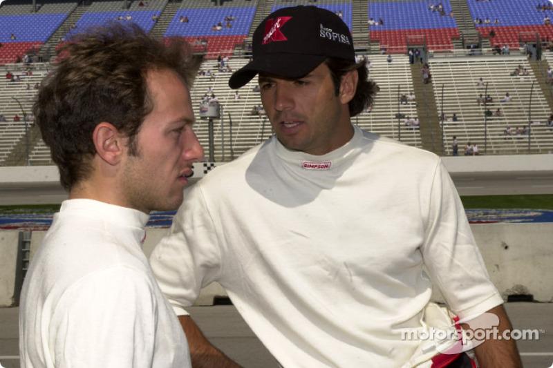 Cristiano da Matta and Christian Fittipaldi