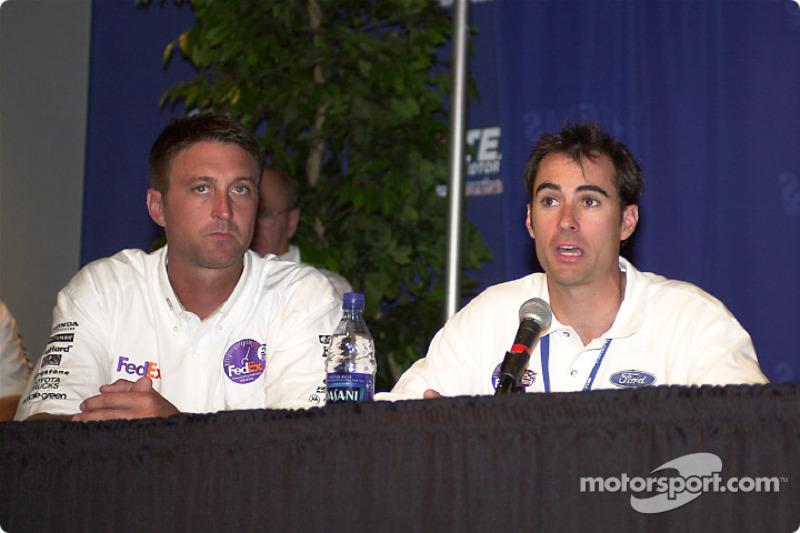 Chris Kniefel, chief Stewart, and Bryan Herta