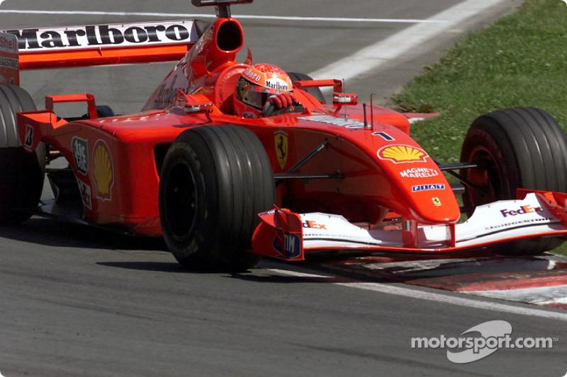 38. Canadá 2001, Ferrari F2001