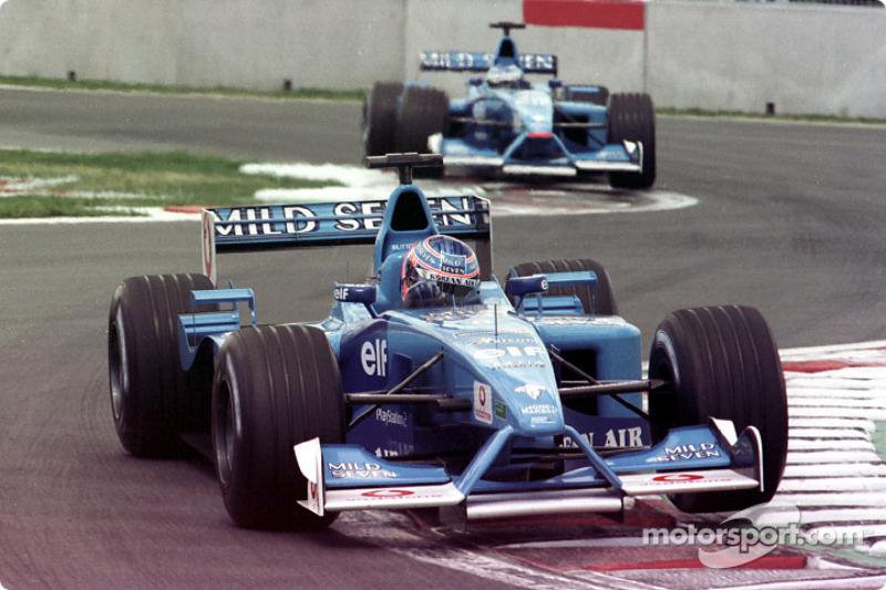 Jenson Button et Giancarlo Fisichella au GP du Canada