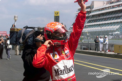 Another pole position for Michael Schumacher