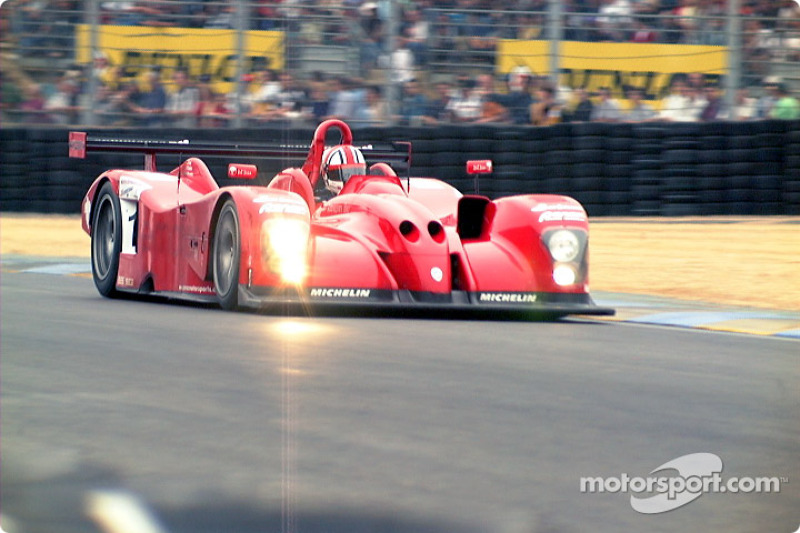 Panoz out of Dunlop