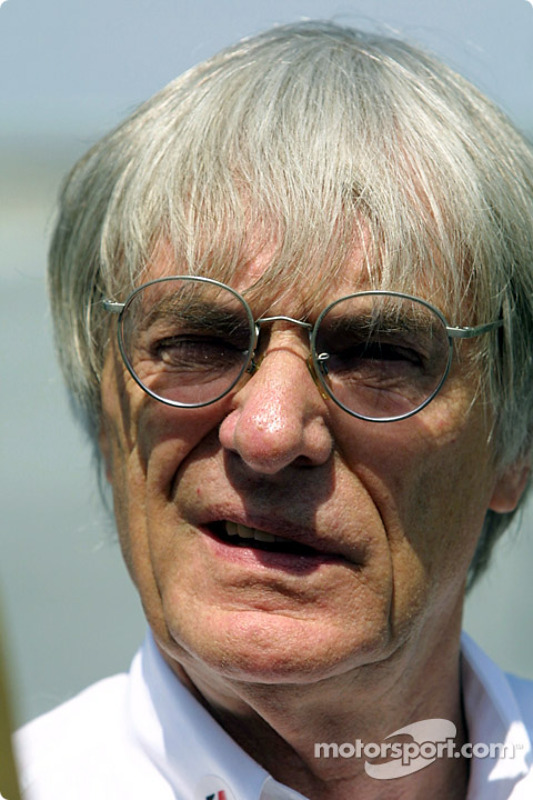 The man himself: Bernie Ecclestone