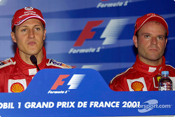 Press conference: Michael Schumacher and Rubens Barrichello
