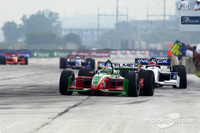 Adrian Fernandez and Bryan Herta