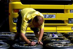 Tire preparation, Jordan