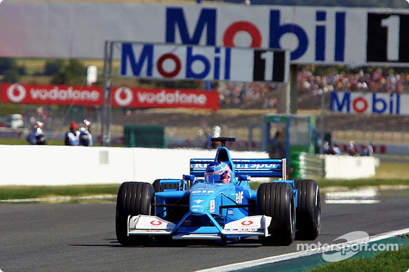 Jenson Button au GP de France