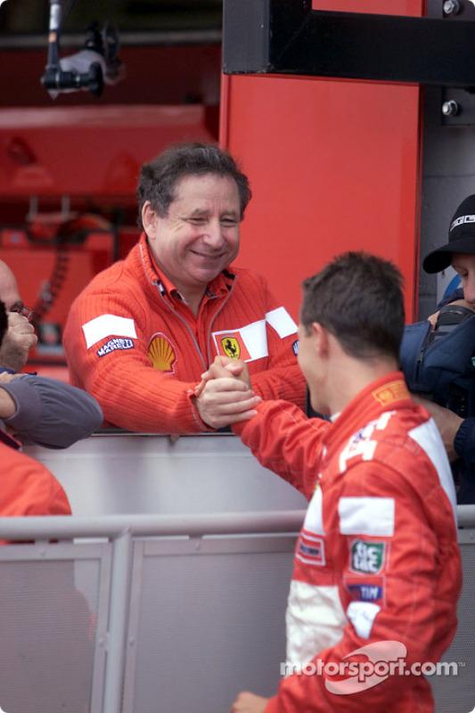 Jean Todt and Michael Schumacher