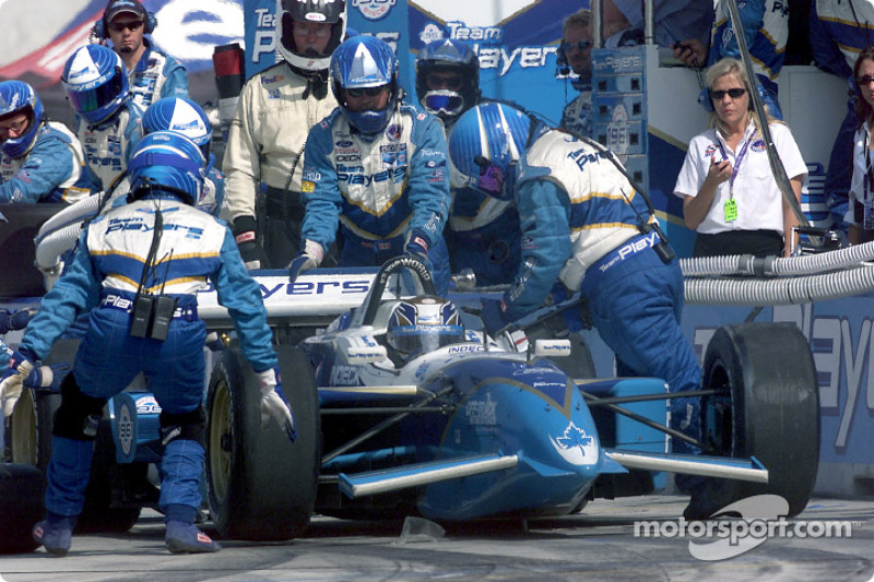 Pitstop for Patrick Carpentier