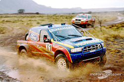 New Ford Ranger, winner of the Queen Motor Spares Tarka 400