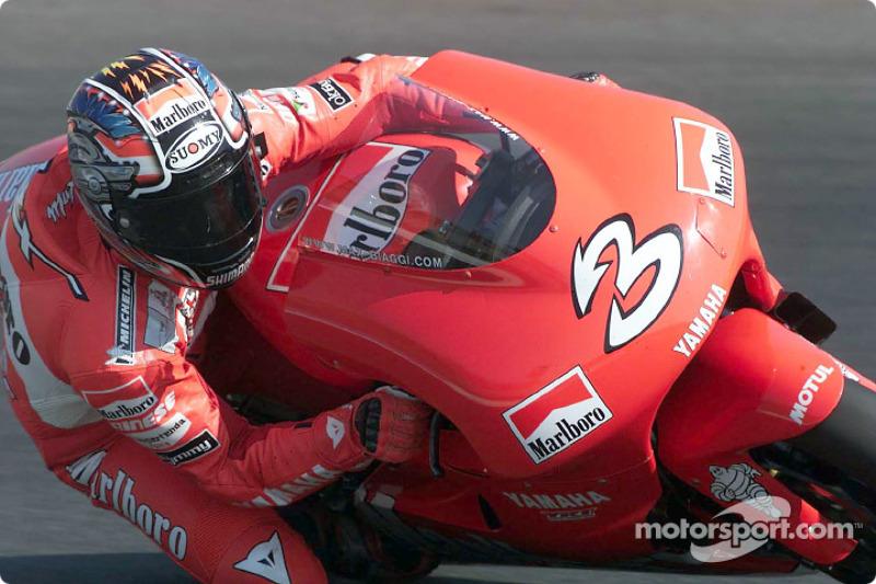 2001: Max Biaggi (Yamaha)
