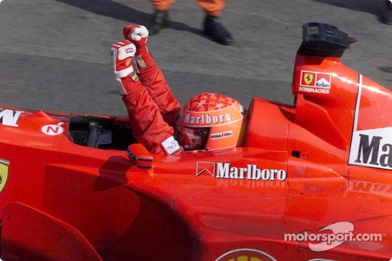 Michael Schumacher gana el GP de Italia