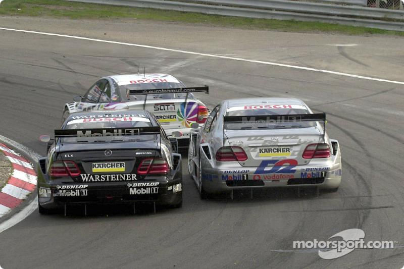2001: Uwe Alzen y Bernd Schneider, Mercedes-AMG CLK