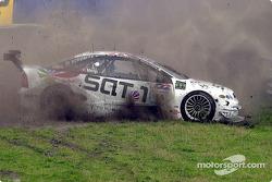 Unfall: Alain Menu, Opel Euroteam, Opel Astra V8 Coupé