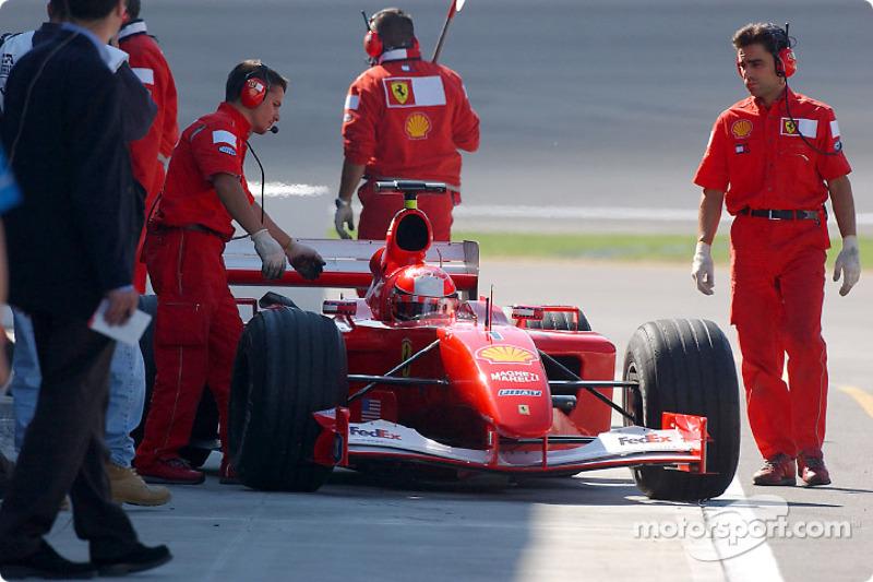 Morning session: Michael Schumacher
