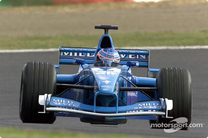 2001 - Benetton B201: 17º lugar no Mundial de Pilotos, com dois pontos