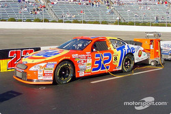 Ricky Craven's car ready for racing