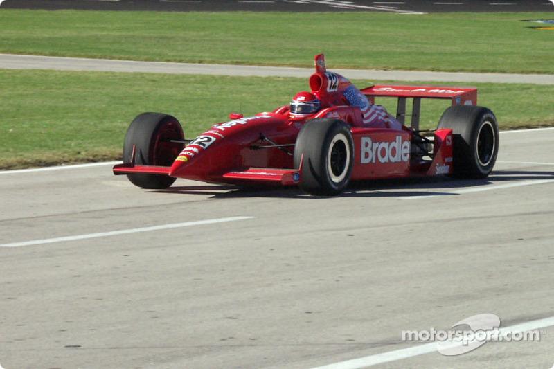 Buzz Calkins on pit road