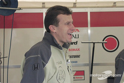 Vector Racing press officer: Olivier Panis